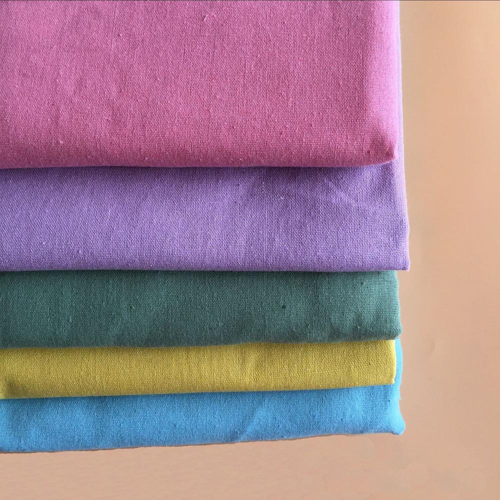 50*150cm Linen Cotton Fabric Meter Patchwork Costura Tissus Sofa Quilting Sewing Textiles Tilda Telas Felt Tulle Shabby Chic(China (Mainland))