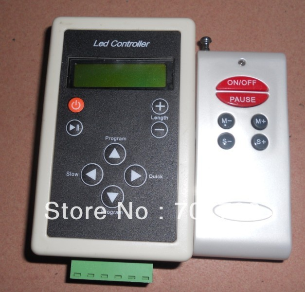 DC12V RF LPD6803 LED controller,used for DC12V LPD6803 led strip,LPE6803 pixel module.etc