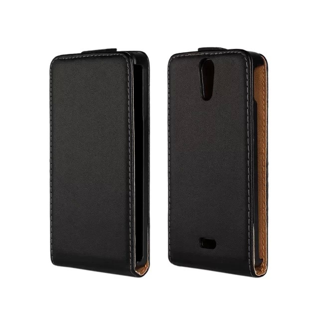 Genuine Leather Flip Case for Sony Xperia V LT25i Magnetic Pouch Cover Cases Free Shipping Wholesales PY(China (Mainland))