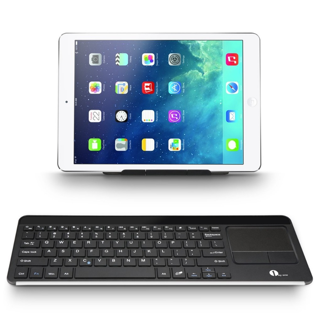 Wireless Bluetooth Keyboard Multi Touchpad Touch Keyboard