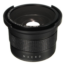 Buy 0.35X Super Wide Angle Fisheye Macro Lens 58mm Canon EOS 700D 650D 600D 550D 1100D 1200D 760D 70D Rebel T6i T5i 18-55mm for $21.68 in AliExpress store
