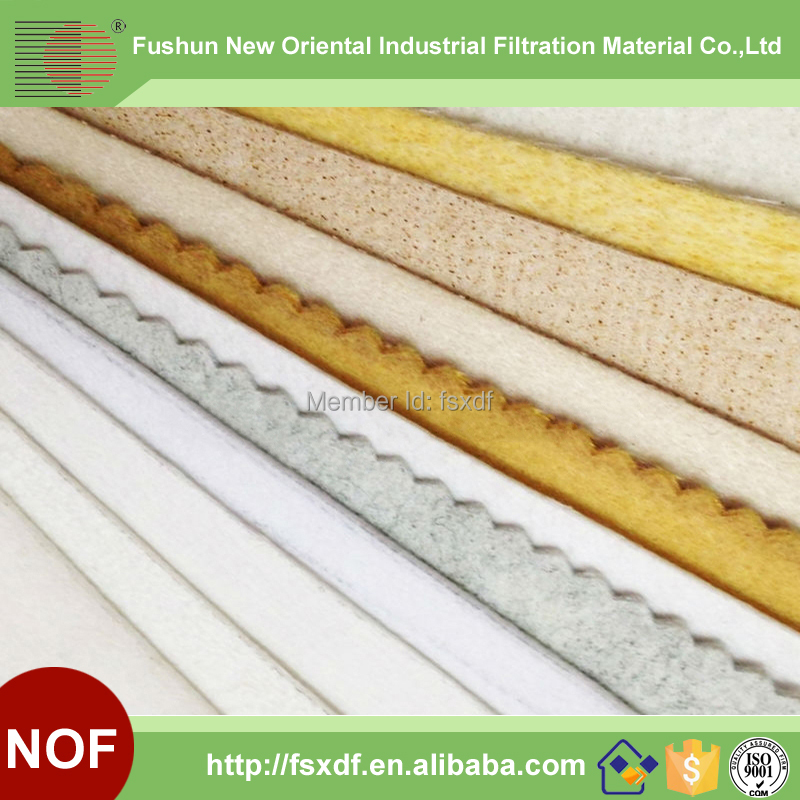 NOF Factory direct sale Filter Material for Gas Disposal(China (Mainland))