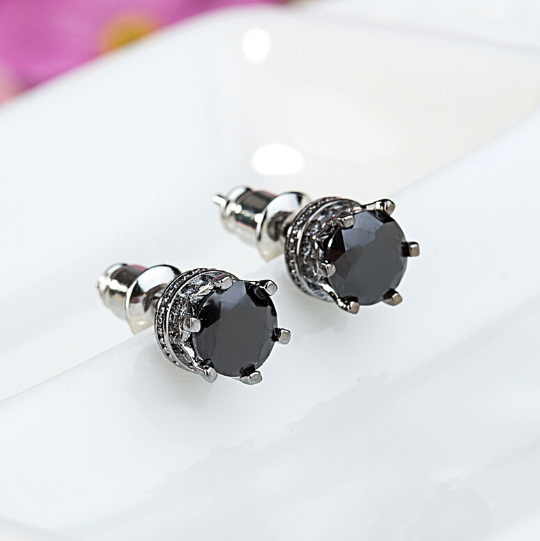 awesome black earrings for guys