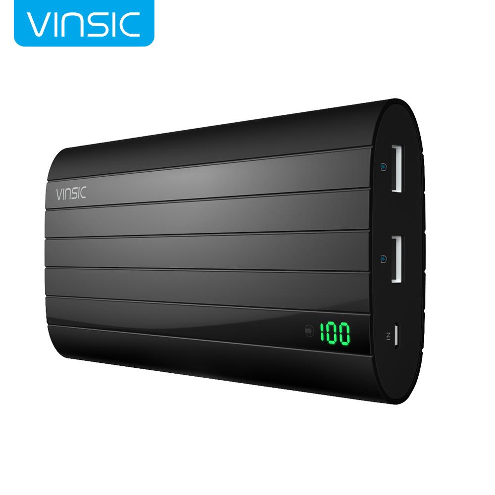 Vinsic IRON P6 20000mAh Smart Identification Dual USB Port Power Bank Universal For iPhone 6s Samsung S6 Xiao mi Mi Pad(China (Mainland))