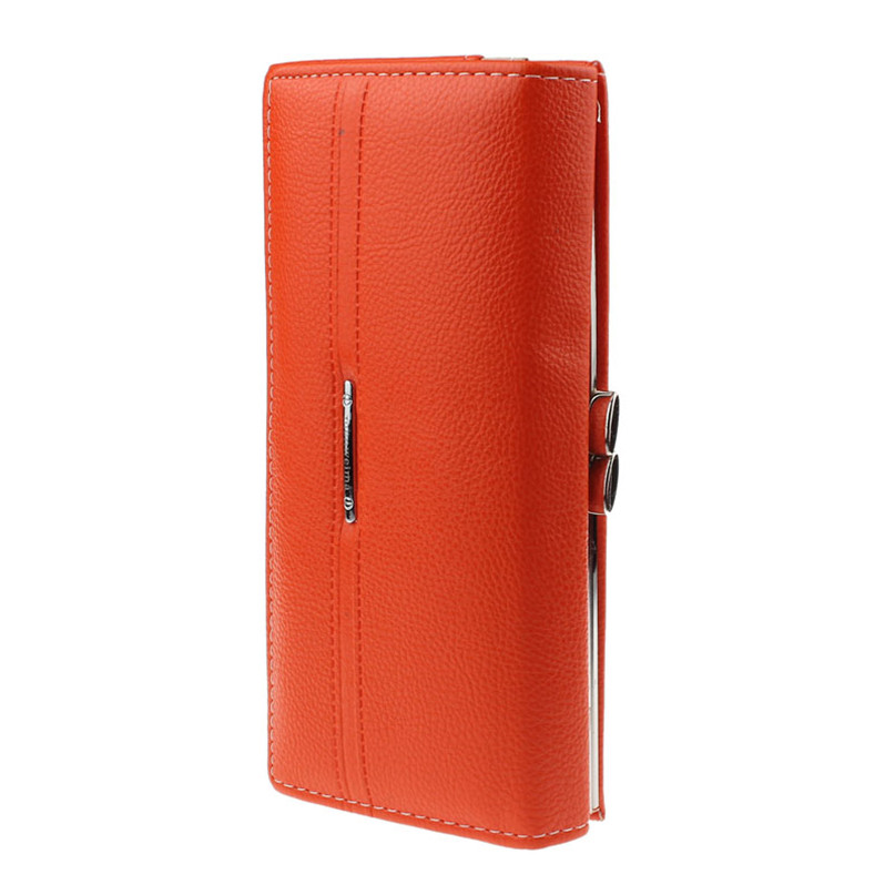 Modern Women Leather Hot Sell Women Wallet Fashion Ladies Coin Purse Leather Clutch Bag For Gift Jn27(China (Mainland))