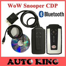 2016 Best wow snooper with Bluetooth v5.008R2 dvd TCS cdp pro obd2 scan for cars and trucks OBDII auto diagnostic tool Free ship(China (Mainland))