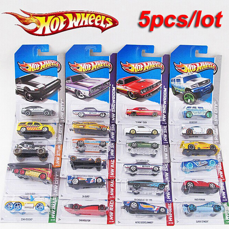 5 pcs metal car model classic antique collectible toy cars for sale hotwheels collection hot wheels miniatures scale cars models(China (Mainland))