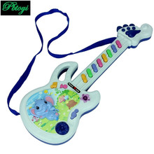 Toy guitar baby musical instrument musical keyboard children toys wholesale free shipping PC0312(China (Mainland))