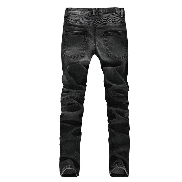 Ripped Jeans Limited Low 2015 Hot Mens Designer Jeans Famous Brand And Minimalist Leisure Wild Men Balmans Slim Feet Size 28-38