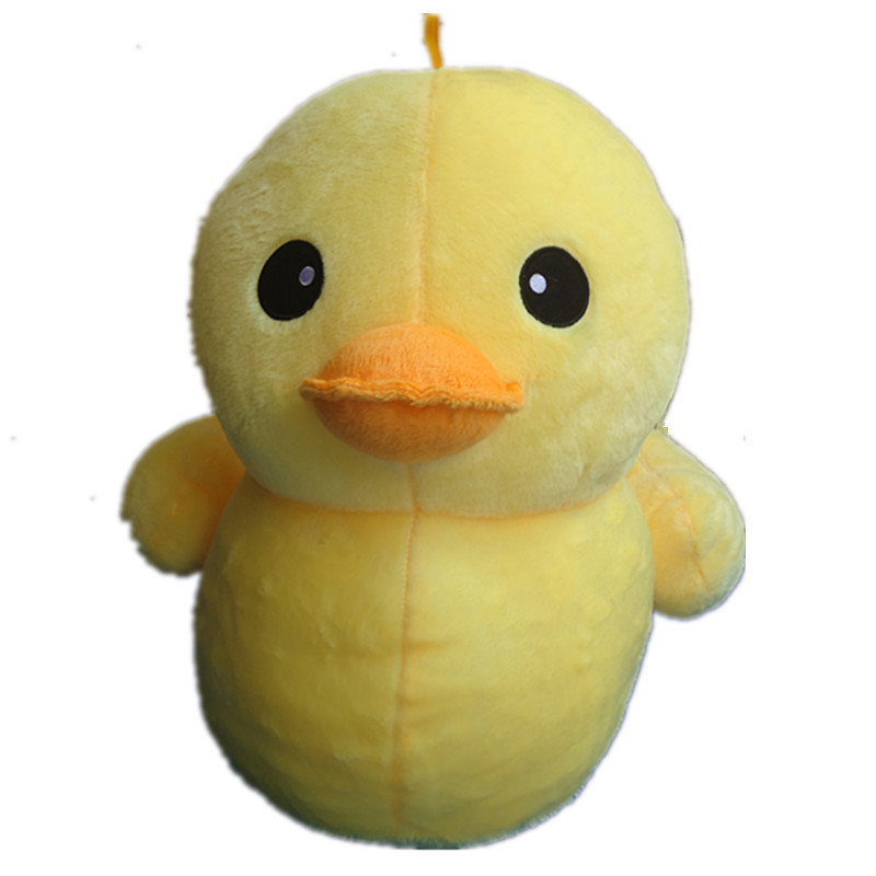 50cm Children Toys Cute big Yellow Duck Plush Dolls Giant Toys ty plush animals pepa pig minecraft Christmas Birthday Day Gifts(China (Mainland))
