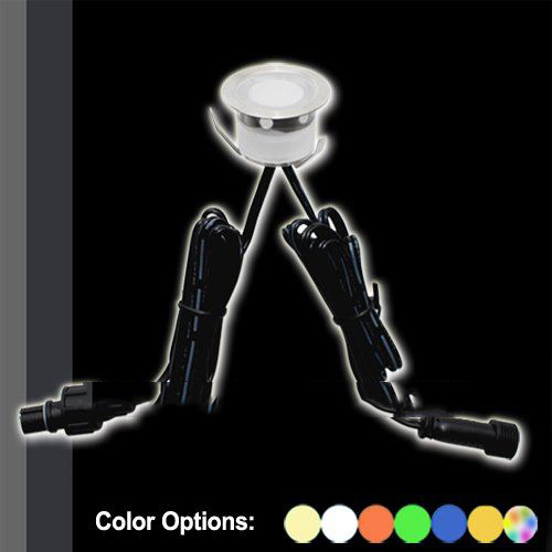 """""""Free Shipping"""" 10 x 30MM LED Decking Light Kit Including 10pcs Lights+1pc 8W IP67 Driver All Accessories Are Included(SC-B105B)(China (Mainland))"""