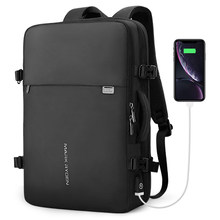 Mark Ryden мужской рюкзак подходит для 17 дюймов ноутбука USB подзарядка многослойная космическая дорожная мужская сумка Анти-Вор Mochila(China)