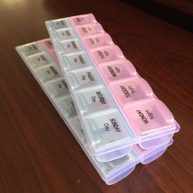 7 дн. еженедельный планшет таблетки медицина Box держатель для хранения организатор ...