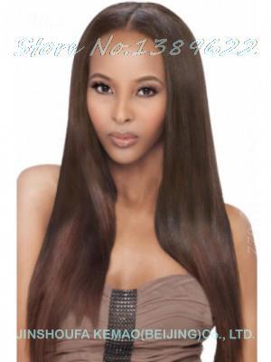 Здесь можно купить  U Part Human Hair Wigs Promotion Hot Sale Auburn Soft Degree Hair 2014 Sexy Fashion 4 Colors Long Wave Lady