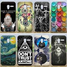 Colorful Painting 20 patterns Back Cover Case For Alcatel One Touch Pixi 3 5.0 OT5015 5015X 5016A 5015A 5015D 5015E Phone Cases