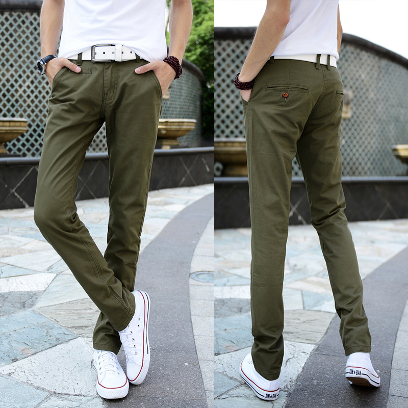 Aliexpress.com : Buy New 2015 Men's Casual Pants Men's Trousers ...