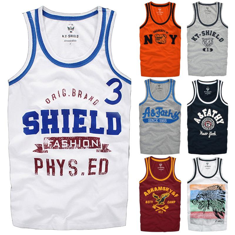 men tank top Bodybuilding Stringers Tank Top Men Golds Gym Shark Fitness Vest Muscle Shirt Undershirt Sport Clothes Gymshark XXL - NEW 2015 store