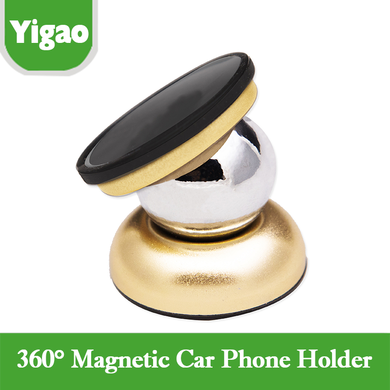 Universal magnetic Car Phone Holder 360 Degrees support vehicle for mobile Stands for Samsung Galaxy Note S5 iphone car holder(China (Mainland))
