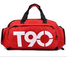 Складной портативная наплечная сумка водонепроницаемый путешествие мешок большие емкость багаж сумочка фитнес рюкзак мужчины и женщины