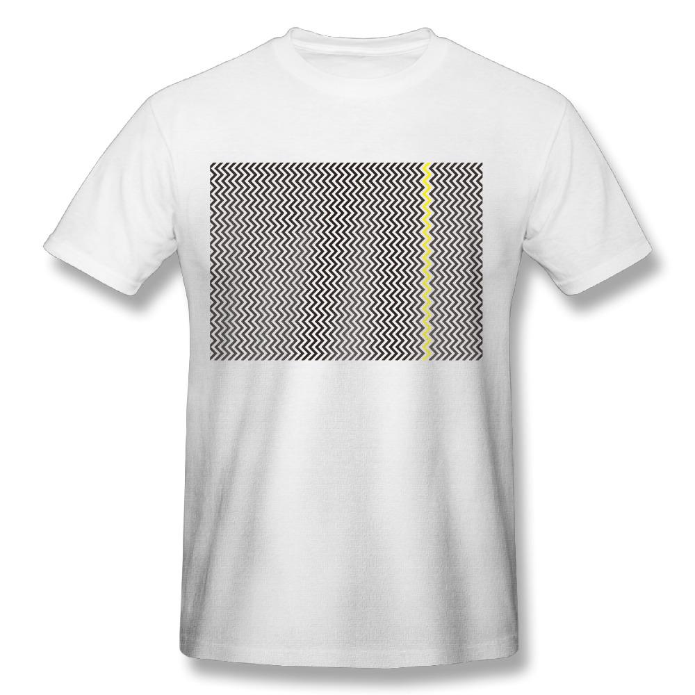 Shirt design for man 2017 - 2017 Coco Coir Chevron Pattern Printing T Shirt Man Funny Comic Customized Fitness Dance
