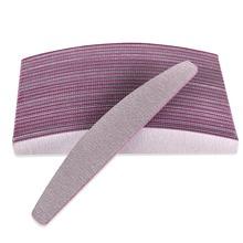 10Pcs/lot  Grey ACR Nail File Buffer 100/180 Nail Art Sanding Buffer Files For Salon Manicure UV Gel Tips Pedicure Tool(China (Mainland))