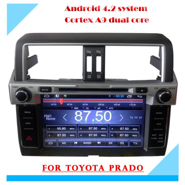 2015 New For TOYOTA PRADO 2013 2014 Android 4.4 Car dvd for LC150/PRADO 150 High level 2014 Andriod Car GPS Wifi Radio,BT,CANBUS(China (Mainland))