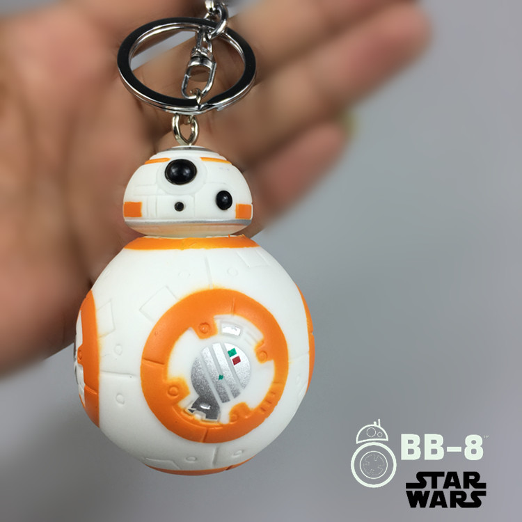 Star Wars 7 BB8 The Force Awakens Droid BB 8 Action Figure toys 7cm lovely Robot