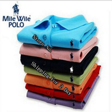 2015 small horse Polo shirt brand fashion casual men short sleeve solid Polo shirt polo ralp