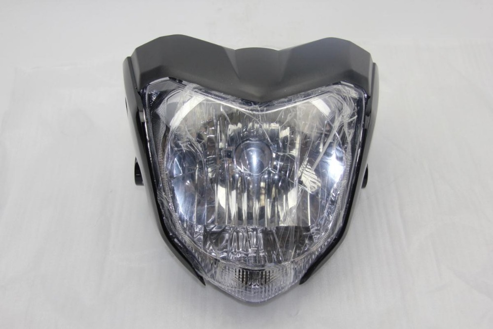 High quanlity Motorcycle Headlight Universal With Bulb And Bracket used for YAHAMA FZ16(China (Mainland))