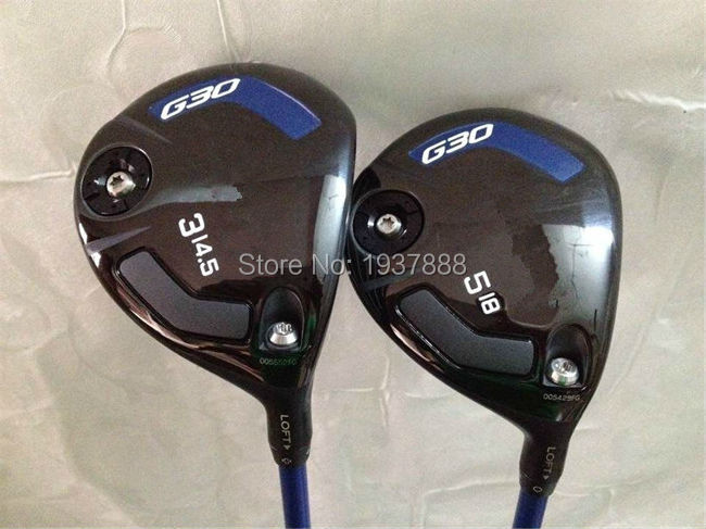 G30 Fairway Woods G30 Golf Clubs Right Hand G30 Golf Fairway Woods #3/#5 R/S/SR-Flex Graphite Shaft With Head Cover(China (Mainland))