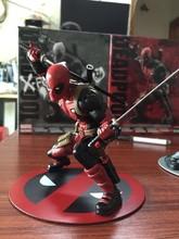 Deadpool Action Figures Deadpool Merc With A Mouth Anime New Mutants PVC Figure Wade Winston Wilson deadpool trailer 16D