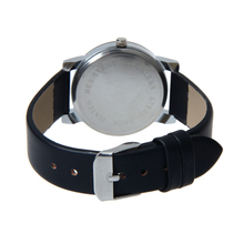 Attractive High qualty New Arrival Men Quartz Dial Clock Leather Wrist Watch Round Case Free Shipping