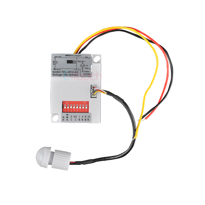 NEW saving energy IR sensor module switch sensor switch of LED lamp free shipping(4PCS ET022)