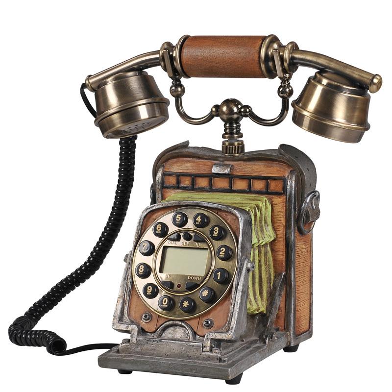 Retro fashion phone / Creative Antique landline / Caller ID Phone / vintage camera fixed telephone(China (Mainland))