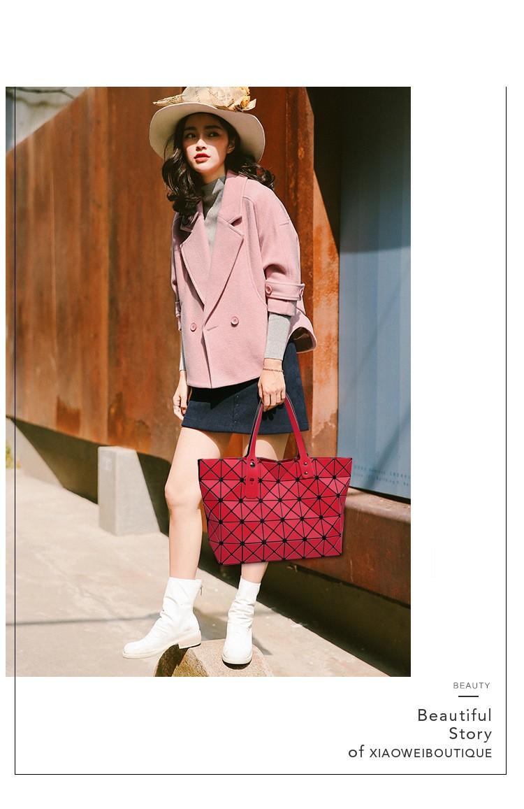 Luxury Handbags Women Bags Designer geometry Women Messenger Bag Ladies Tote Shoulder Hand Bag Famous Brand BaoBao Handbag