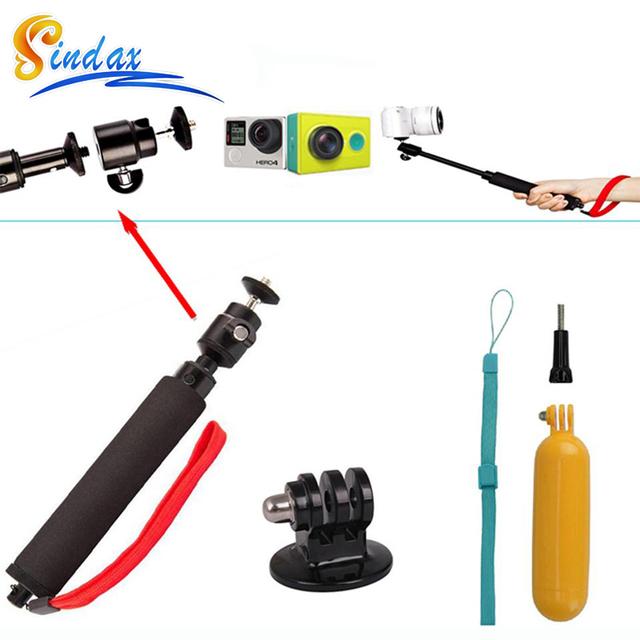 for gopro xiaomi yi 4k waterproof monopod selfie stick float bobber selfie monopod for gopro. Black Bedroom Furniture Sets. Home Design Ideas