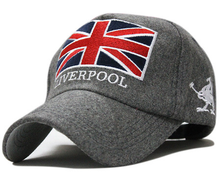 Free shipping 2015 baseball cap season fashion wave of people warm hat British Union Jack embroidered