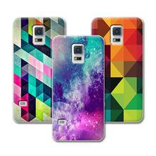 Buy Grid Fashion Hard Plastic Case Samsung S5 Mini Case Cover samsung Galaxy S5 Mini G800 Back Cover+Stylus Pen for $2.58 in AliExpress store