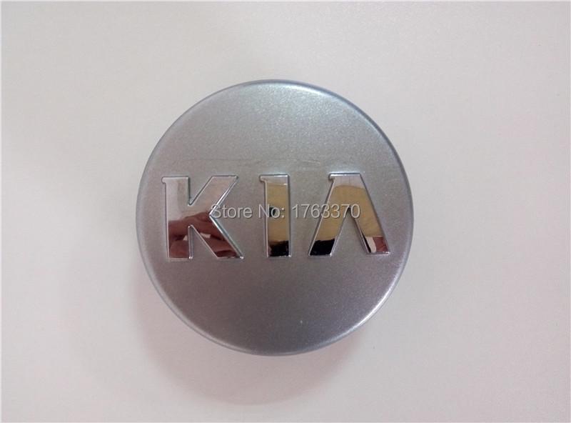 4pcs/set Car For Kia Wheel Hub Rim Centre Center Caps 60MM ABS Chrome Hubcaps Cover OEM 52960-1Y200(China (Mainland))