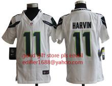 100% stitched youth Seattle Seahawks children 16 Tyler Lockett 3 Russell Wilsons 12 Fan 24 Lynch seahawk 88 Jimmy Graham(China (Mainland))