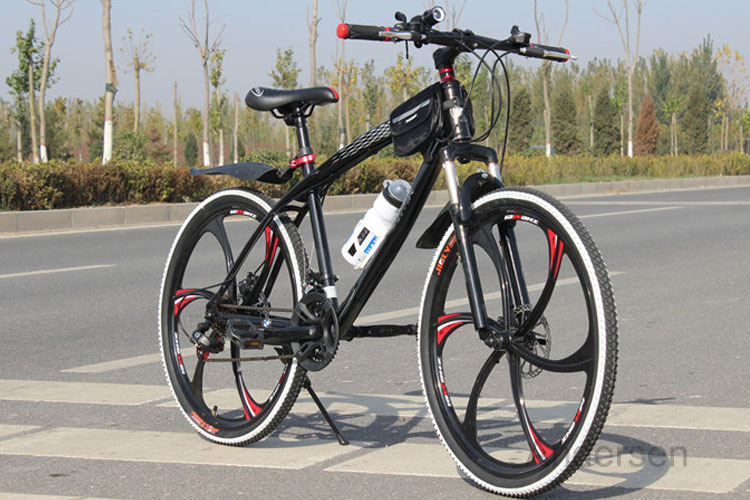 Free Shipping 26 Inch 24 Speed Mountain Bike Bicycle downhill Road Bike With Double Disc Brake
