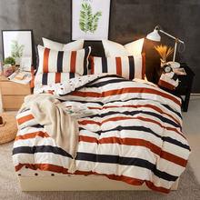 Fashion Bedding Set luxury Pink love Family Set Sheet Duvet Cover Pillowcase Full King Single Queen,bed set 2019(China)