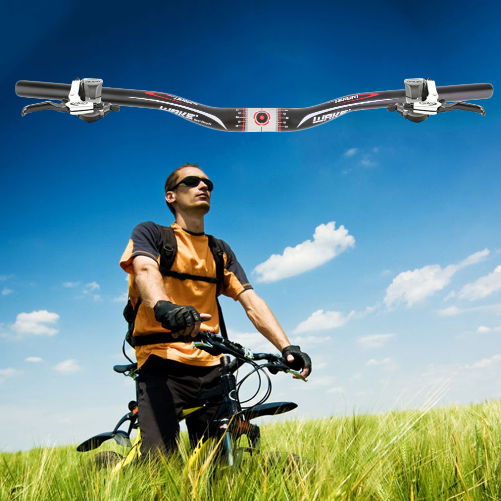 31.8mm * 620mm Aluminium alloy MTB Mountain Road Bike Bicycle Handlebar Cycling Riser Flat Handlebar free shipping<br><br>Aliexpress