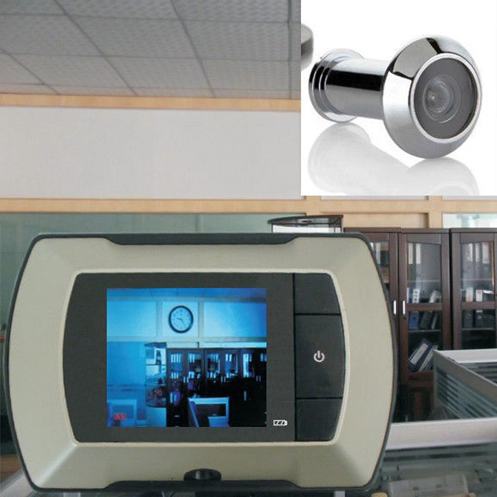 "2.4"" LCD Visual Monitor Door Peephole Peep Hole Wireless Viewer Camera Video(China (Mainland))"