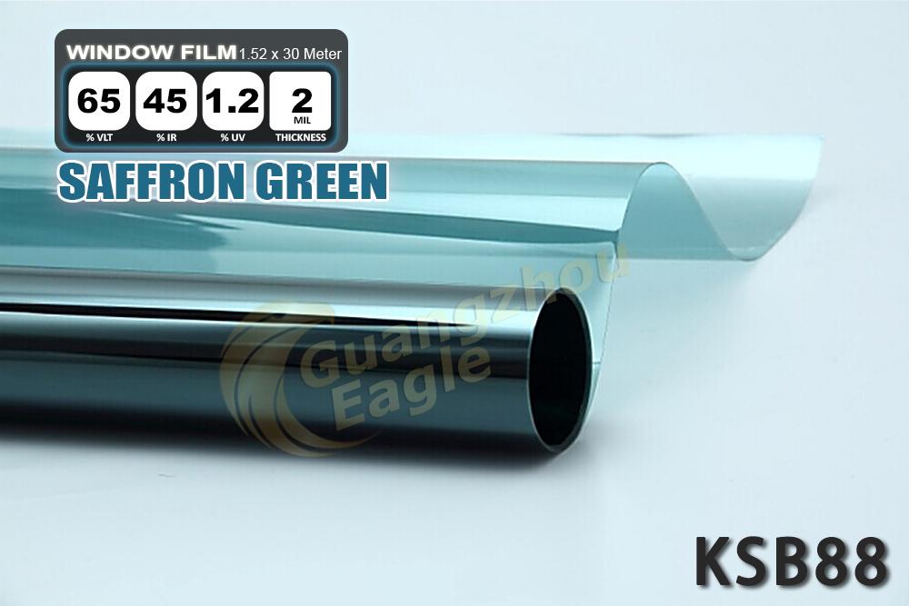 Light EMARALD Blue VLT 72% Solar film Auto Window tint (KSB-088) - Eagle Accessories Co., Limited store