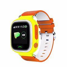 Bebé inteligente Reloj Q80, Toobur Sistema de Posicionamiento Global GPS Rastreador Smartwatch para Android IOS teléfono inteligente pk Q50 Q60 Q90