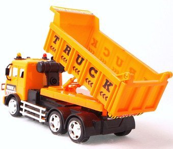 Infrared remote control construction dumpers with light funny kids tipper truck toys children ability develop  + free shipping