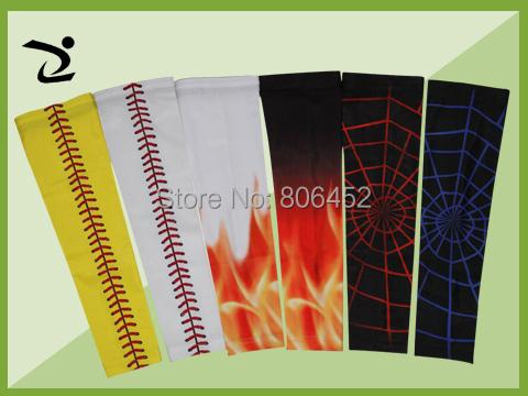 Compression Sports Arm Sleeve Digital Camo Baseball Football Wicking Neon sleeves free shipping sample order(China (Mainland))