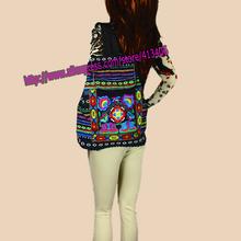 Tribal Vintage Hmong Thai Indian Ethnic Boho rucksack Boho hippie ethnic bag backpack bag L size