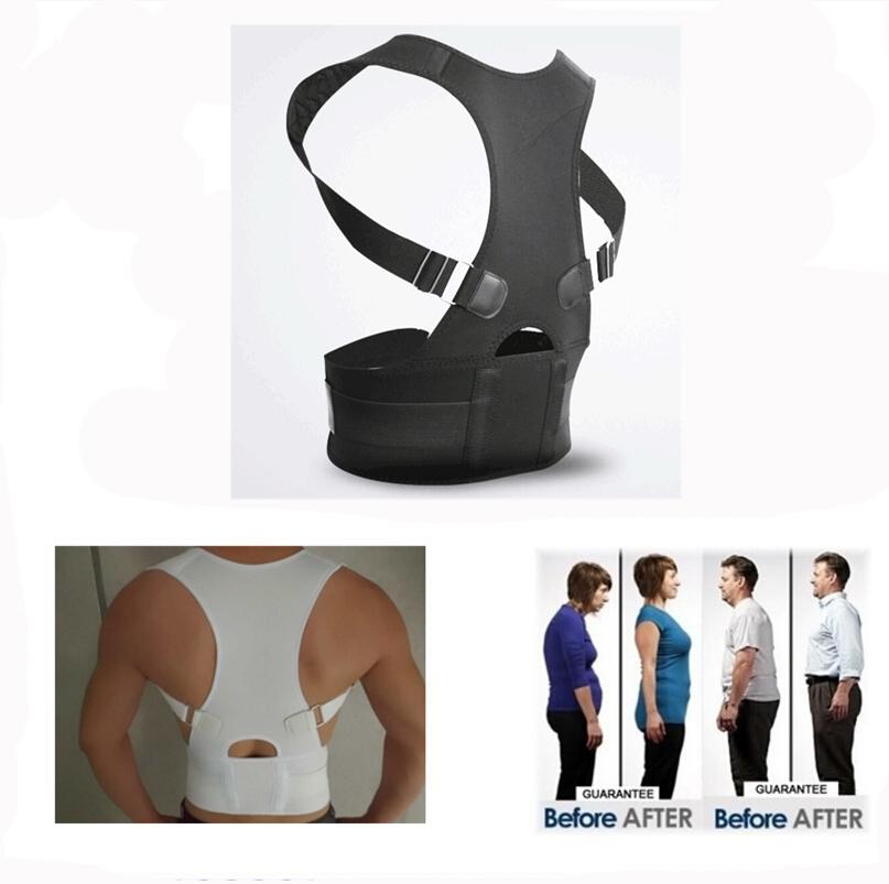 2017 new neoprene magnetic posture corrector Hot Selling lower back support belt Back Straightener Body Posture Correction Brace(China (Mainland))